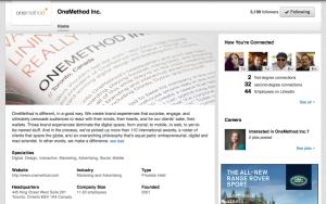 Great LinkedIn Company Page