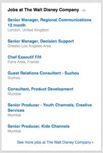 LinkedIn Careers Page