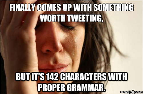 Funny Meme Twitter : Confessions of a social media addict lauren marinigh